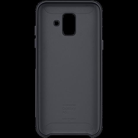 Samsung Dual Layer Cover Schwarz Galaxy A6 99927904 hinten
