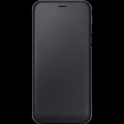 Samsung Wallet Cover Schwarz Galaxy A6 99927902 vorne