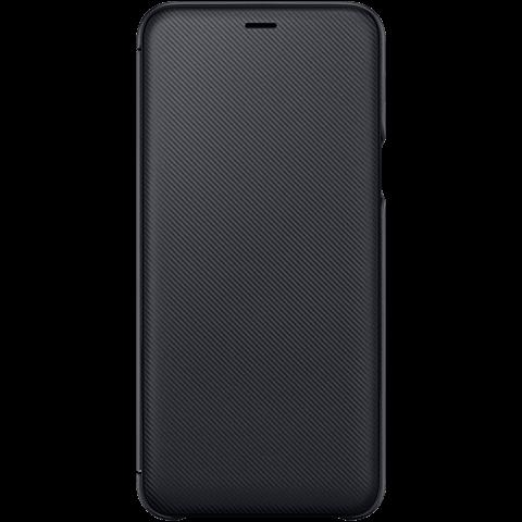Samsung Wallet Cover Schwarz Galaxy A6+ 99927903 vorne
