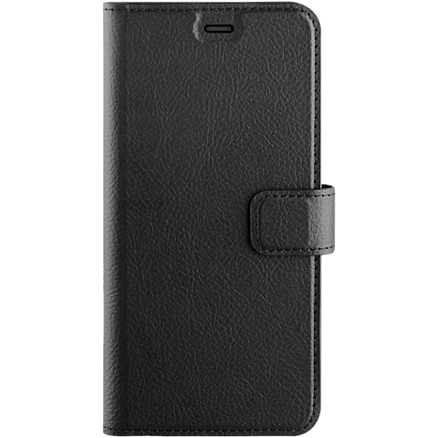 xqisit Slim Wallet Selection Schwarz Samsung Galaxy A6 99927940 vorne