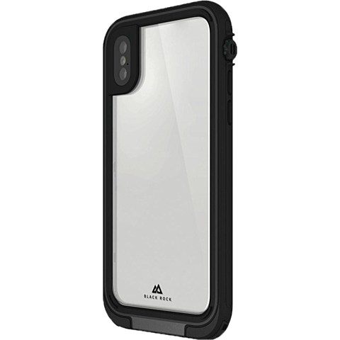 Black Rock 360° Hero Cover Schwarz Apple iPhone X 99927889 vorne