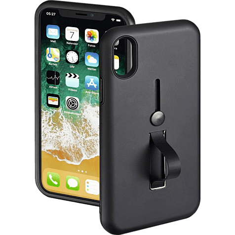 Hama Loop Cover Schwarz Apple iPhone X 99927872 hero
