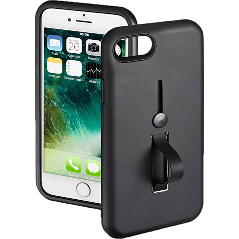Hama Loop Cover Apple iPhone 7-8 - Schwarz 99927871 vorne