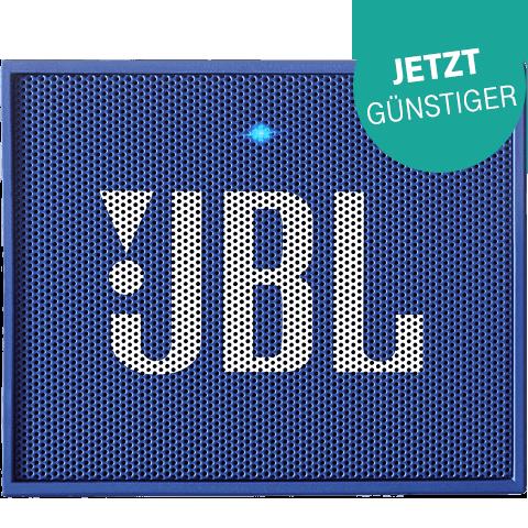 JBL GO Bluetooth Lautsprecher Blau 99923403 vorne