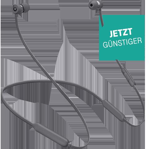 Beats X Wireless In-Ear Bluetooth-Kopfhörer Grau Aktion 99926326 vorne