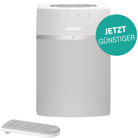 BOSE SoundTouch 10 Wireless Music System weiss vorne 99923836 Aktion