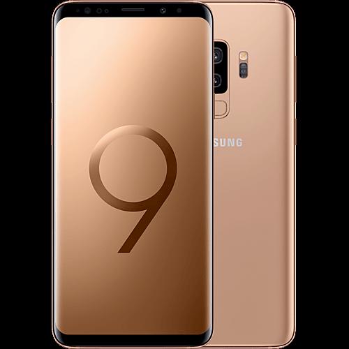 Samsung Galaxy S9 Plus Gold Vorne und Hinten