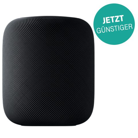 Apple HomePod Space Grau 99927971 vorne