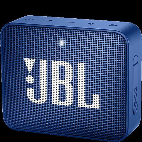 JBL GO 2 Bluetooth-Lautsprecher Blau 99927947 vorne