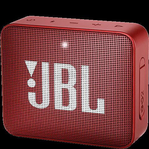 JBL GO 2 Bluetooth-Lautsprecher Rot 99927948 vorne
