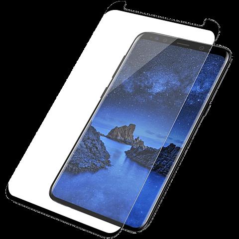 PanzerGlass Display Glas Schwarz Samsung Galaxy S9+ 99928017 vorne