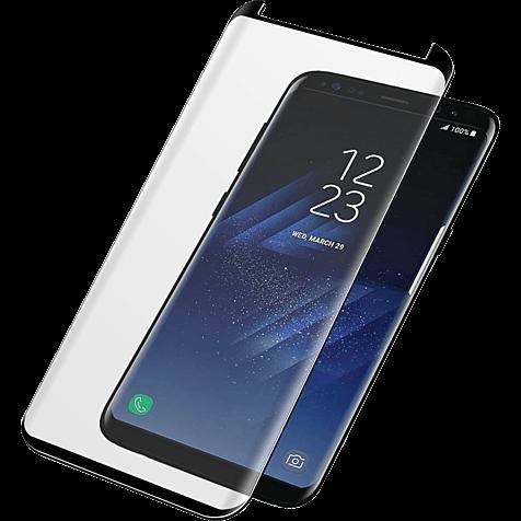 PanzerGlass Display Glas Schwarz Samsung Galaxy S8 99928024 hero