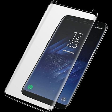 PanzerGlass Display Glas Schwarz Samsung Galaxy S8+ 99928025 hero
