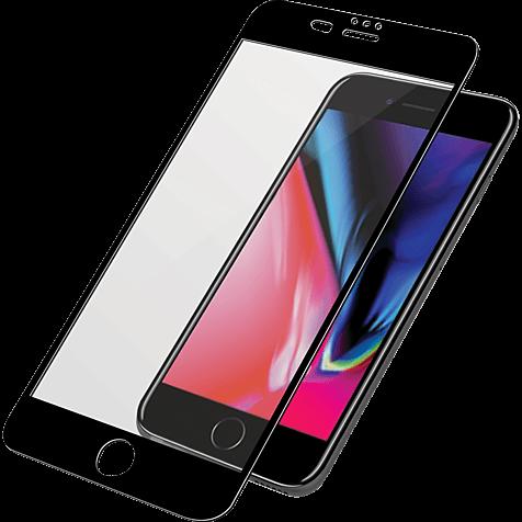 PanzerGlass Display Glas Schwarz Apple iPhone 8 Plus 99928029 hero