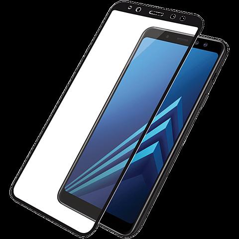 PanzerGlass Display Glas Schwarz Samsung Galaxy A6 99928022 vorne