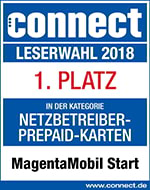 Prepaid Testsieger - Connect