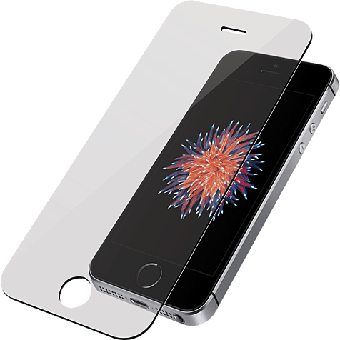PanzerGlass Display Glas Transparent Apple iPhone SE 99928026 hero