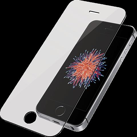 PanzerGlass Display Glas Transparent Apple iPhone SE 99928026 vorne