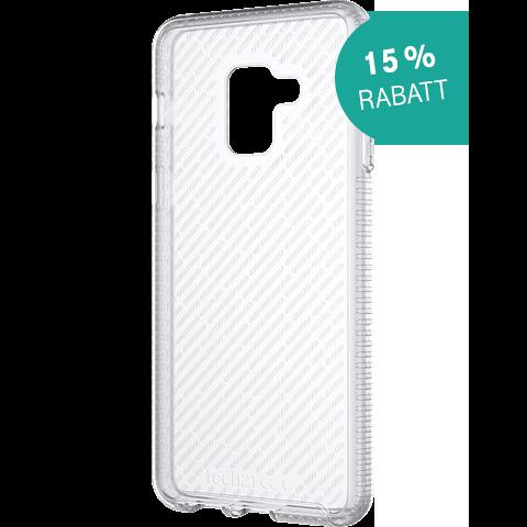 Tech21 EVO Shell Clear Samsung A8 Weiss 99927580 vorne