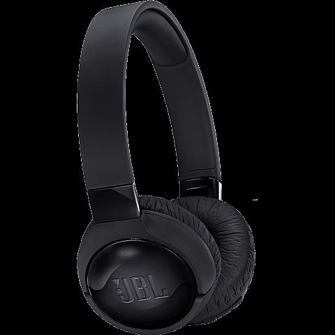 JBL TUNE600BTNC On-Ear Bluetooth-Kopfhörer Schwarz 99928032 vorne