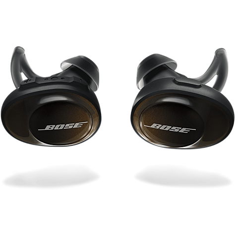 BOSE SoundSport Free Wireless Headphones Schwarz 99928125 vorne