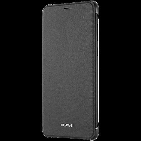 HUAWEI Flip Cover Schwarz P Smart 99928141 seitlich