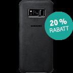 Samsung Alcantara Cover silbergrau Samsung S8 99926486 kategorie
