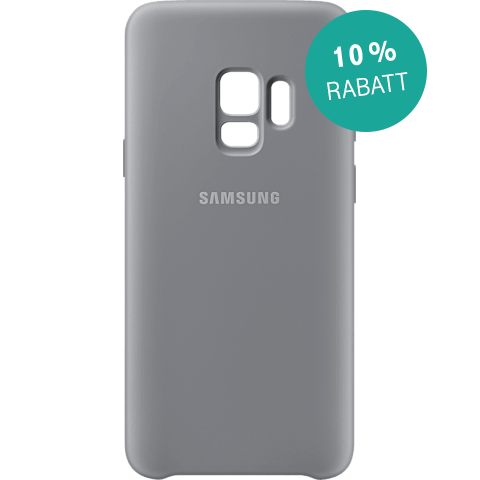 Samsung Silicone Cover Grau Galaxy S9 99927676 kategorie