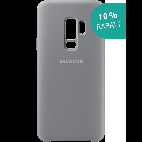 Samsung Silicone Cover Grau Galaxy S9 Plus 99927679 kategorie