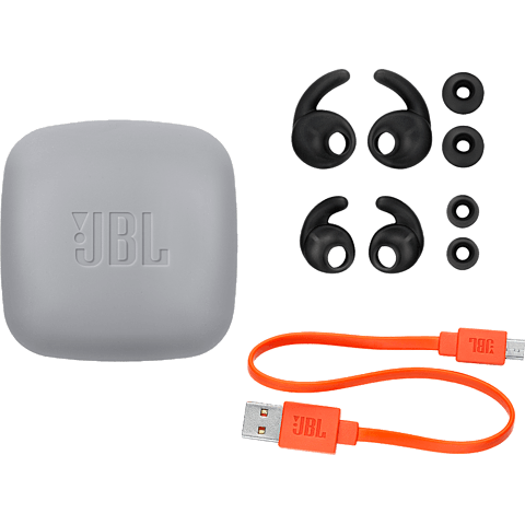 JBL Reflect Mini 2 BT In-Ear Bluetooth-Sportkopfhörer Schwarz 99928039 hinten