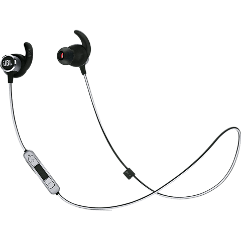 JBL Reflect Mini 2 BT In-Ear Bluetooth-Sportkopfhörer Schwarz 99928039 vorne