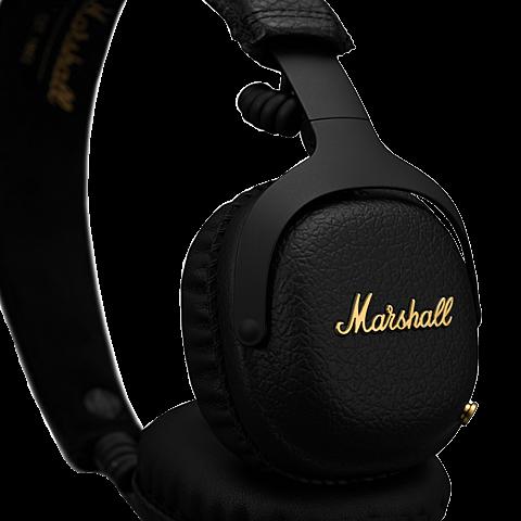 Marshall MID A.N.C. Bluetooth-Kopfhörer Schwarz 99928041 vorne