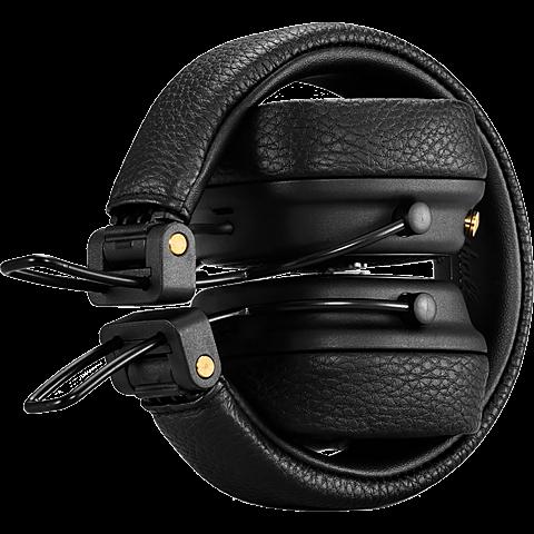 Marshall Major III Bluetooth-Kopfhörer Schwarz 99928042 hinten