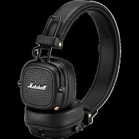 Marshall Major III Bluetooth-Kopfhörer Schwarz 99928042 vorne