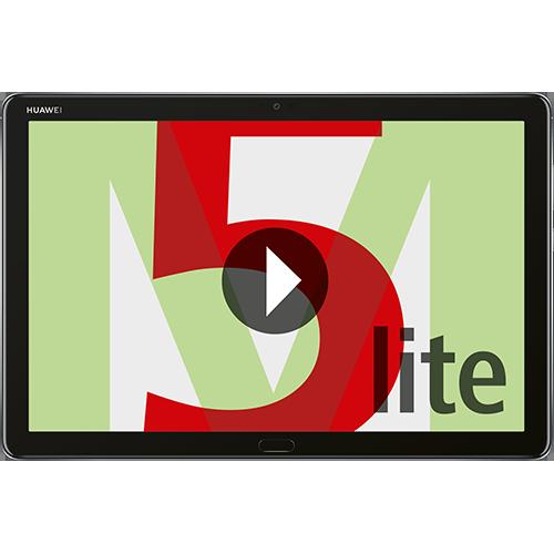 HUAWEI Mediapad M5 lite Vorne und Hinten