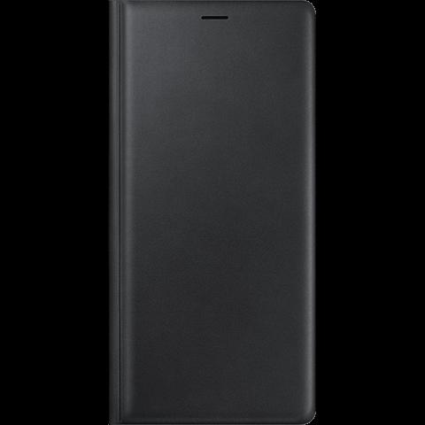 Samsung Leather Wallet Schwarz Note9 99928290 vorne