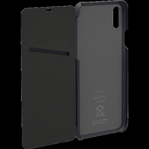 TECFLOWER andi be free Leder Booklet Schwarz Apple iPhone X 99928227 hinten
