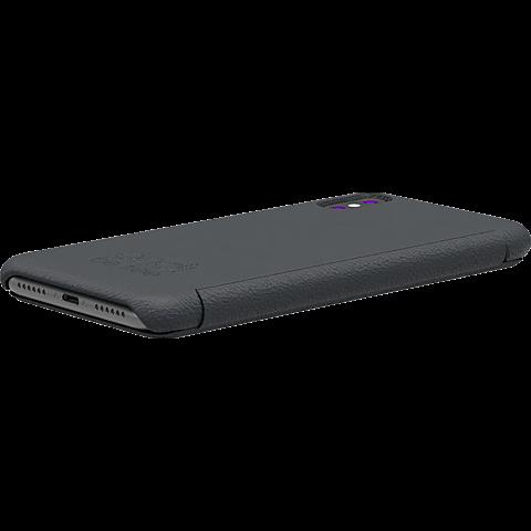 TECFLOWER andi be free Leder Booklet Schwarz Apple iPhone X 99928227 seitlich