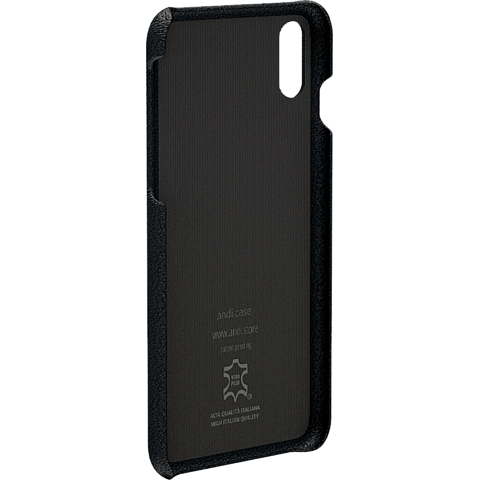 TECFLOWER andi be free Leder Cover Schwarz Apple iPhone X 99928226 hinten