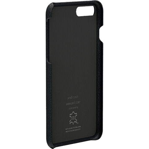 TECFLOWER andi be free Leder Cover Schwarz Apple iPhone 8 99928230 hinten