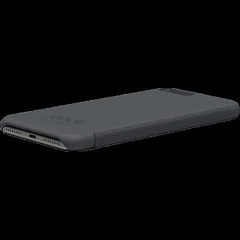 TECFLOWER andi be free Leder Booklet Schwarz Apple iPhone 8 Plus 99928229 seitlich