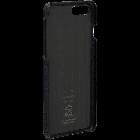 TECFLOWER andi be free Leder Cover Schwarz Apple iPhone 8 Plus 99928228 hinten