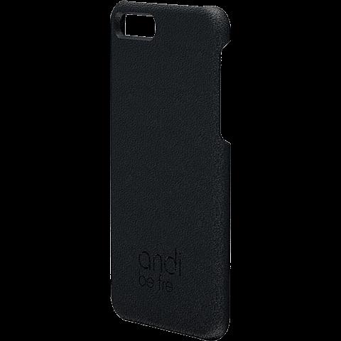 TECFLOWER andi be free Leder Cover Schwarz Apple iPhone 8 Plus 99928228 vorne