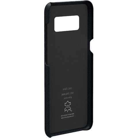 TECFLOWER andi be free Leder Cover Schwarz Samsung Galaxy Note8 99928225 hinten