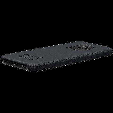 TECFLOWER andi be free Leder Booklet Schwarz Samsung Galaxy S9 99928216 seitlich
