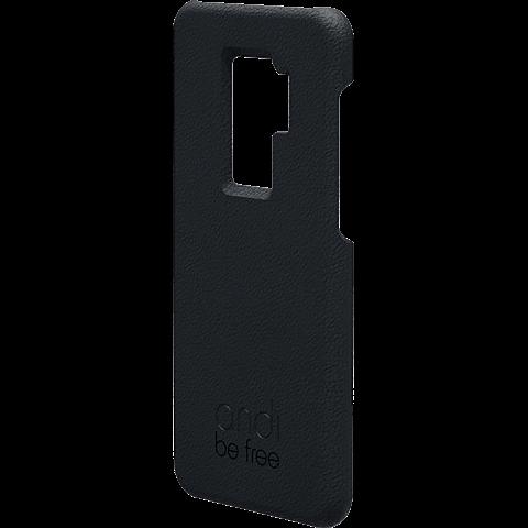 TECFLOWER andi be free Leder Cover Schwarz Samsung Galaxy S9+ 99928232 vorne