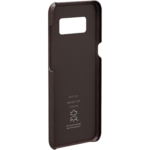 TECFLOWER andi be free Leder Cover Braun Samsung Galaxy S8 99928217 hinten