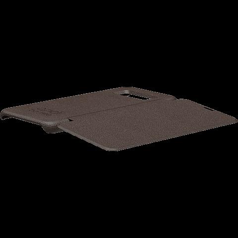 TECFLOWER andi be free Leder Booklet Braun Samsung Galaxy S8+ 99928223 seitlich