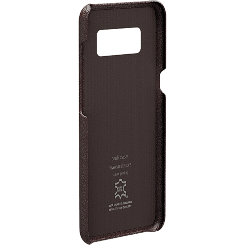 TECFLOWER andi be free Leder Cover Braun Samsung Galaxy S8+ 99928221 hinten
