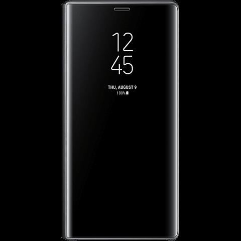 Samsung Clear View Cover Galaxy Note9 - Schwarz 99928288 vorne